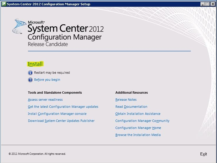 Upgrade SCCM 2012 Beta 2 to SCCM 2012 RC | Admin troubles by