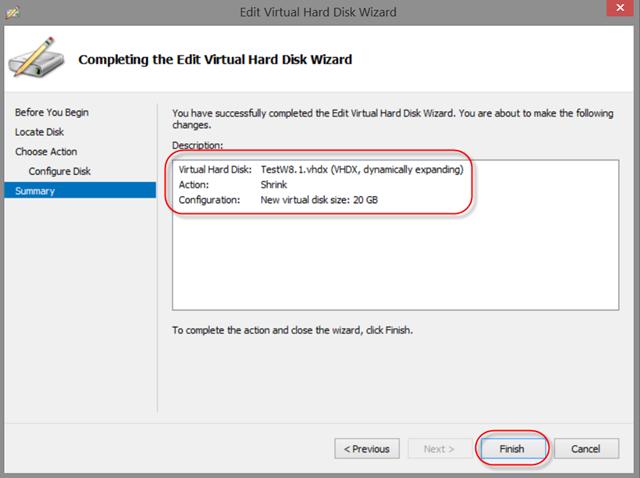 Online VHDX resize [WS2012R2 & W8 1 Preview] | Admin