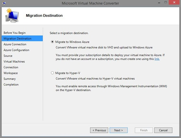 Convert single  VMDK to  VHDX with Microsoft Virtual Machine