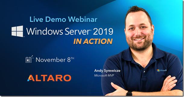 Altaro - live Demo Webinar - Windows Server 2019 In Action -1200x628-no-cta[1]